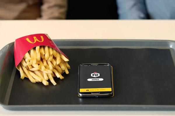 放開那根薯條!麥當勞 App 幫你抓薯條小偷