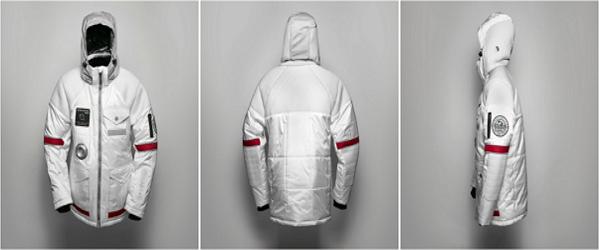 簡單一圓太空夢!超未來感太空外套
