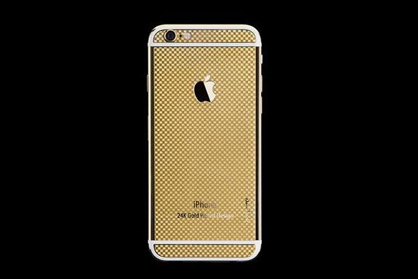 正港台灣貨! 24K 鍍金版 iPhone 6 打趴原廠土豪金