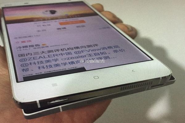 小米新機「米5」 比 iPhone 6 還薄