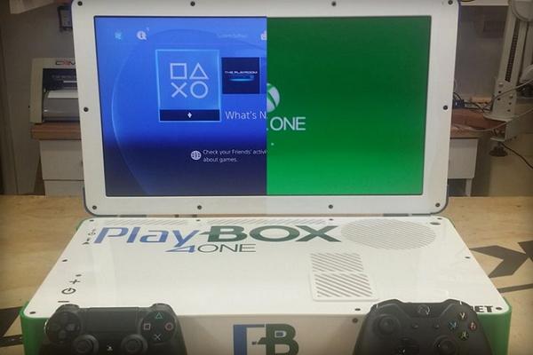 兩個願望一次滿足?!神人打造 PlayStation  XBOX 合一主機