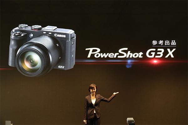 [2015 CP+] 可能在今年下半年上市!Canon Powershot G3X 樣機直擊!