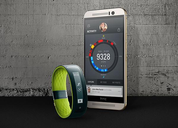 [2015 MWC] 與 UA 合作進軍運動領域!HTC 發表 Re Grip 運動手環與更多週邊!