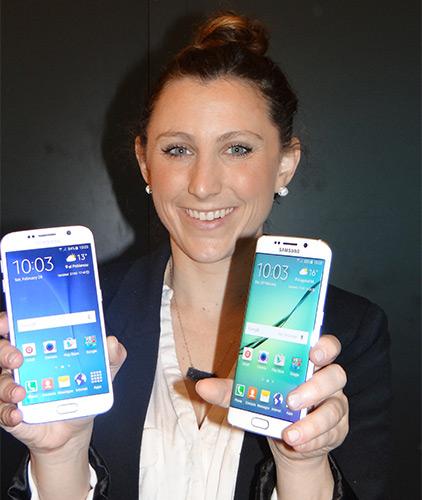 [2015 MWC] 三星 S6 比 iPhone 6 薄 全球首款雙側曲面手機亮相