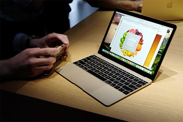 令人訝異的輕薄力!Apple 新 Macbook 現場體驗