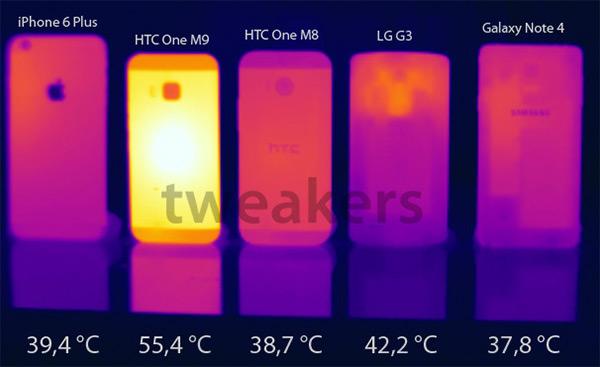 無法出貨可能原因:HTC One M9 疑似出現過熱問題