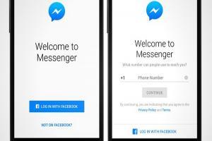 沒有臉書帳號 未來也能用 Messenger 聊天!