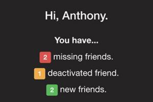 友情大考驗!一秒知道誰刪了你臉書好友