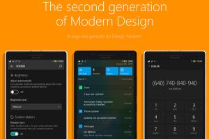 外觀再度進化!Windows 10 Mobile 新概念介面設計