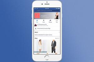 臉書變身購物網站!Facebook 將新增線上購物頁面