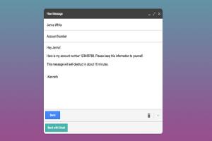 後悔寄出卻無法回收? Gmail 現在能銷毀信件!