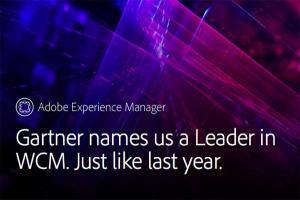 遙遙領先其他品牌! 報告評比 Adobe 為網頁內容管理領導者