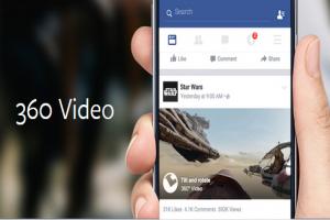 Facebook 360 度全景影片 用手滑就能換視角!