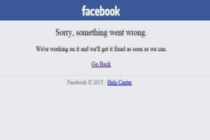 Facebook 又當機! Twitter 瘋傳嘲諷標籤!