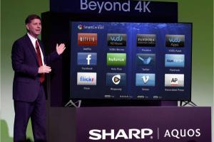 超越 4K 解析度! 夏普在台推出「4K4C」液晶電視