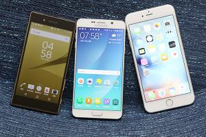 美型或是實用的抉擇!iPhone 6s 對 Note 5 對 Z5 實戰對決:外型篇