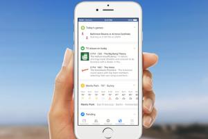 Facebook 新通知功能 意圖取代 Google Now?