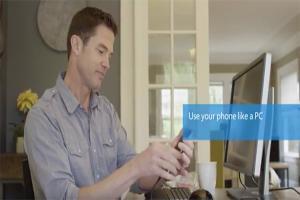 就是不放棄!微軟再宣傳 Windows 10 手機可當電腦用!