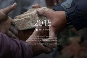 2015 年最熱門話題是?Facebook 帶你一次回顧!