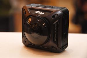 [2016 CES]全角度拍運動影片!Nikon 發表可拍 360 度影片 Keymission 360 運動攝影機