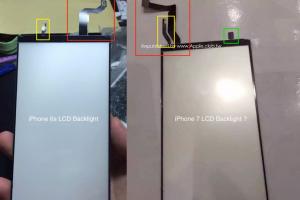 Home 鍵真的會消失? 疑似 iPhone 7 背光模組諜照!