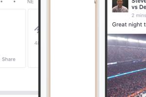球迷瘋狂了! Facebook 推出「線上體育場」即時賽況功能