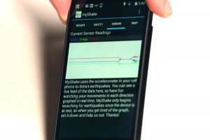 抓住救命瞬間! 柏克萊大學推出地震預警 App「MyShake」