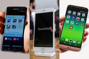 [2016 MWC]美韓旗艦機 PK 戰!三星 S7 對 LG G5 對蘋果 iPhone 6s 規格誰勝?