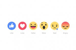 台灣正式上線! Facebook 全新 6 種情緒按鍵來了!