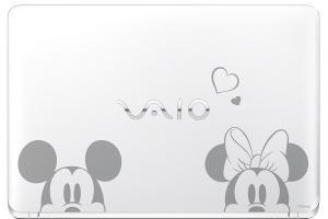 米奇與巴斯光年聯手出擊! VAIO 推出迪士尼限定款筆電!