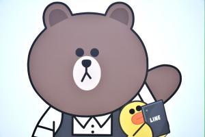 LINE Pay 實體店面支付上線!「熊大」將親臨美麗華指導?