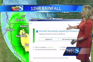 Windows 10 太狂!竟用「升級通知」中斷電視台直播?