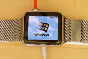 Windows 95 回來了?經典作業系統重現 Apple Watch!