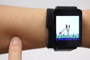 手臂變身觸控板!智慧手錶突破性技術問世!