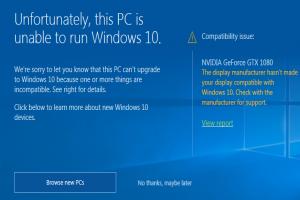 微軟踢鐵板?這張「卡」讓 Windows 10 自動升級失效了!