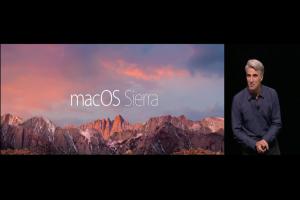 [2016 WWDC]蘋果 15 年來最大改變!新 Mac OS 登場