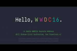 [2016 WWDC] 蘋果新科技大爆發!WWDC 大會不可錯過 5 大重點
