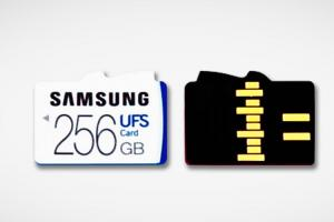三星 UFS 記憶卡問世!Android 手機容量、效能將雙重提升?