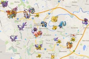 出門找不到皮卡丘?《Pokémon Go》有地圖能看神奇寶貝棲地!