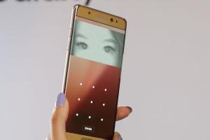 看一眼就解鎖!Samsung Note 7 虹膜掃描卻有缺陷!【內有示範影片】