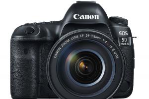 3000 萬畫素+4K!Canon 正式發表 5D Mark 4!