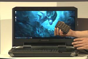 最強 VR 裝置推出!Acer 還準備了超誇張電競筆電?
