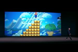 【蘋果發表會】與任天堂攜手!瑪力歐可以在 iPhone 上跳來跳去了!