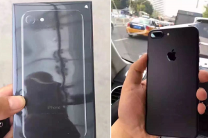 iPhone 7 開箱來了!「黑色」與「曜石黑」該選誰?