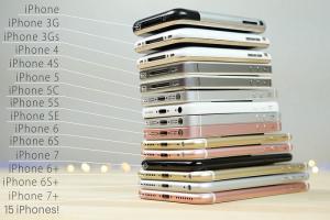 從 2G 到 iPhone 7!15 款歷代 iPhone 手機評測比拚!