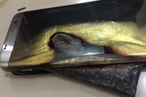 有完沒完?網友;Galaxy Note 7 退還兩周後,S7 Edge 也爆了!