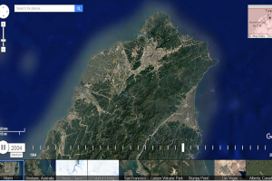 這是曾經的台北盆地?Google 地圖推出 32 年縮時攝影!