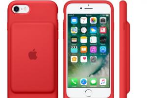 Apple 風格再進化?iPhone 7 電池保護套「血紅版」推出!