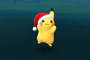 《Pokémon Go》官方正式公告,耶誕帽皮卡丘限定玩法!
