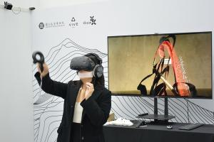 狂草書法的沉淨式體驗,HTC Vive 攜手故宮展示「VR 心境界」!